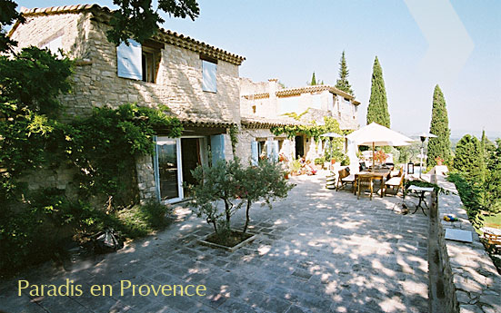 Welcome to Paradis en Provence